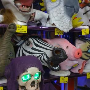 The Jokers Wild-Variety of animal masks