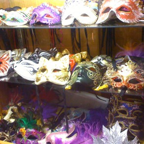 Variety of masks Selection inside the store for any occasions