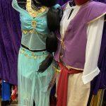 Cartoon Fairy Tail Jasmin Aladdin Costume