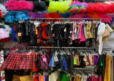 Variety Selections of costumes for holloween