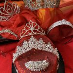 Tiara Crown Rhinestone Case