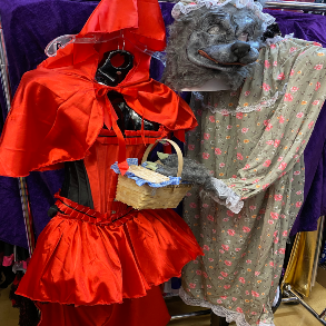 Red Riding Hood and Granny Wolf for Fairy Tail Costume