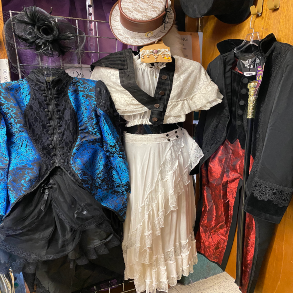 Steampunk Costume for Holloween and Cosplay Events