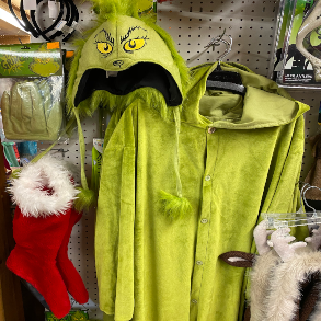 The Jokers Wild Grinch Costume for Christmas