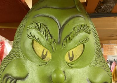 Grinch Mask for Your Christmas Costume
